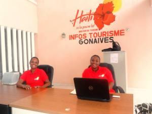 Le Bureau Info-Tourisme/Gonaïves est ouvert. Image tirée de la page Facebook du Ministère du Tourisme d'Haïti